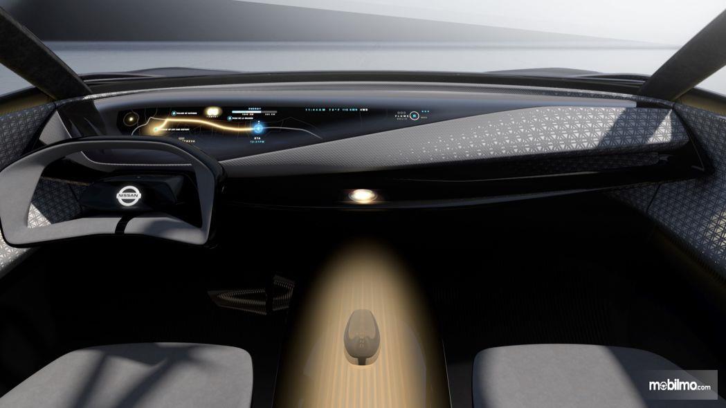 Foto dashboard Nissan IMQ Hybrid