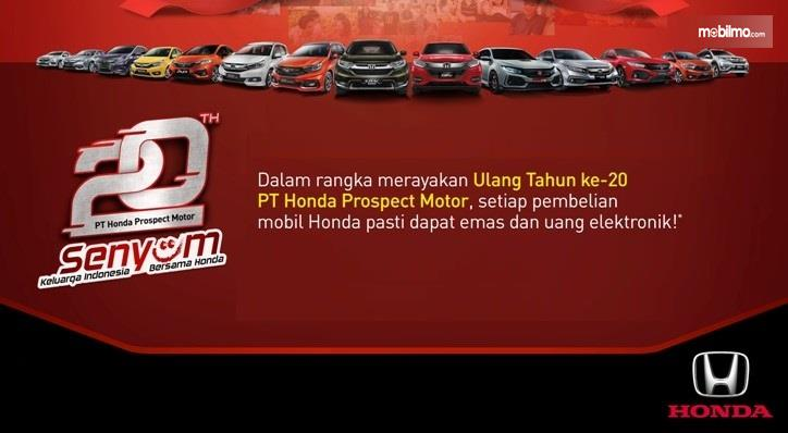 Promo Honda bulan Maret 2019