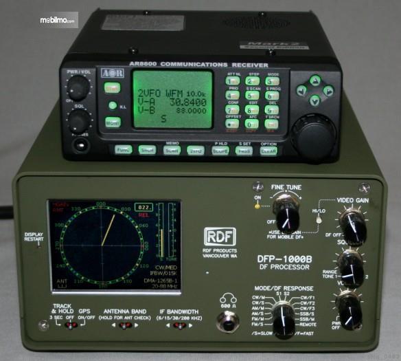 Foto perangkat Radio RDF