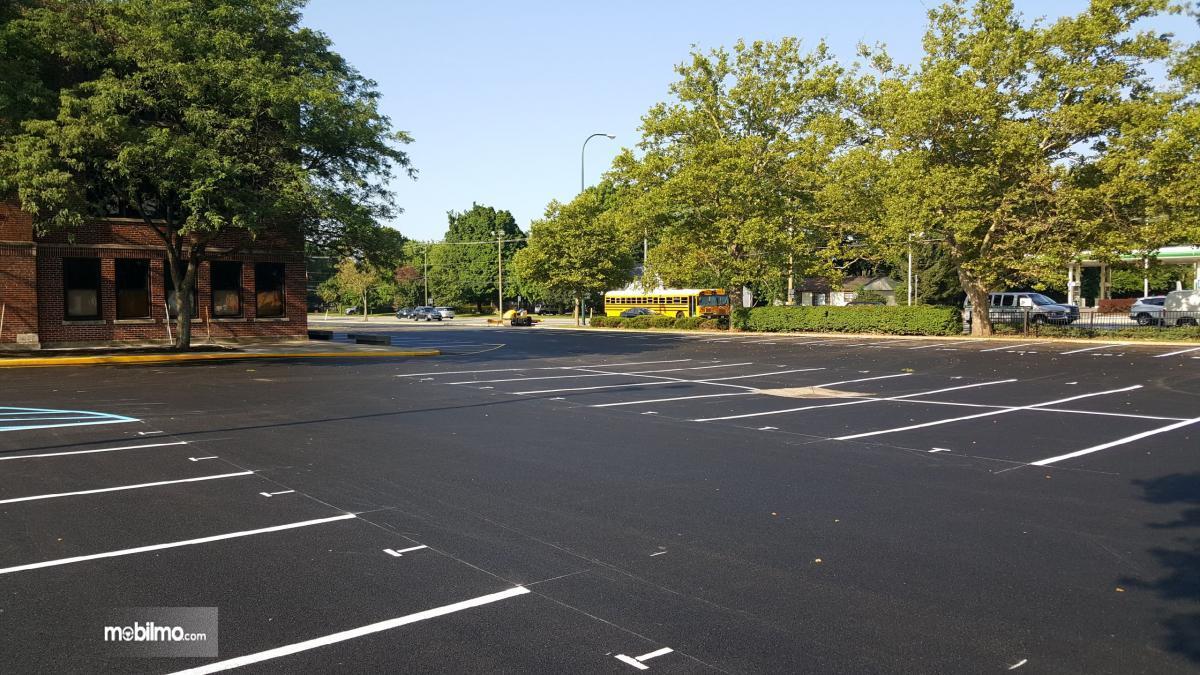 Gambar salah satu tempat parkir