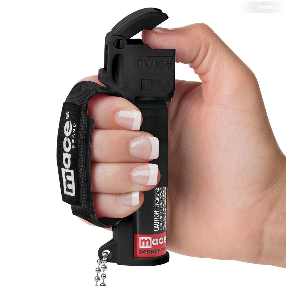 Foto cara menggunakan pepper spray