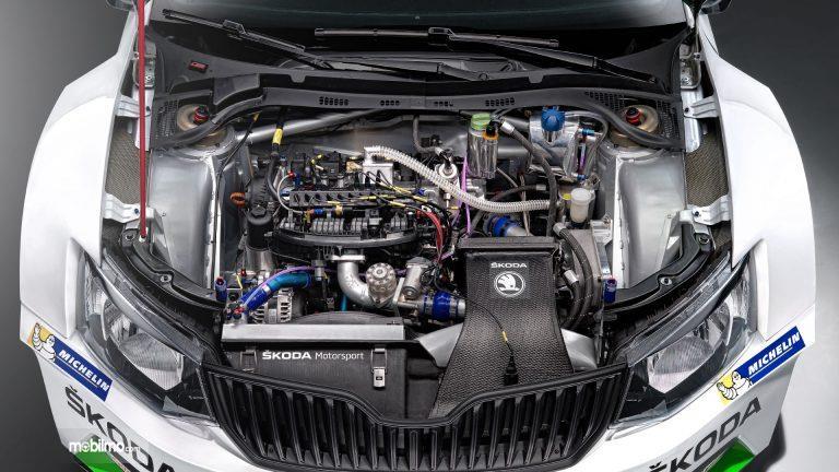 Review Skoda Fabia R5 2019: Mesin mobil Skoda Fabia R5 2019