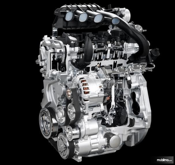 Gambar ini menunjukkan mesin All New Nissan Serena Highway Star 2019