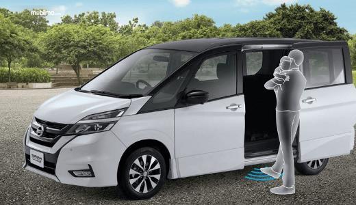 Gambar ini menunjukkan ilustrasi fitur All New Nissan Serena Highway Star 2019