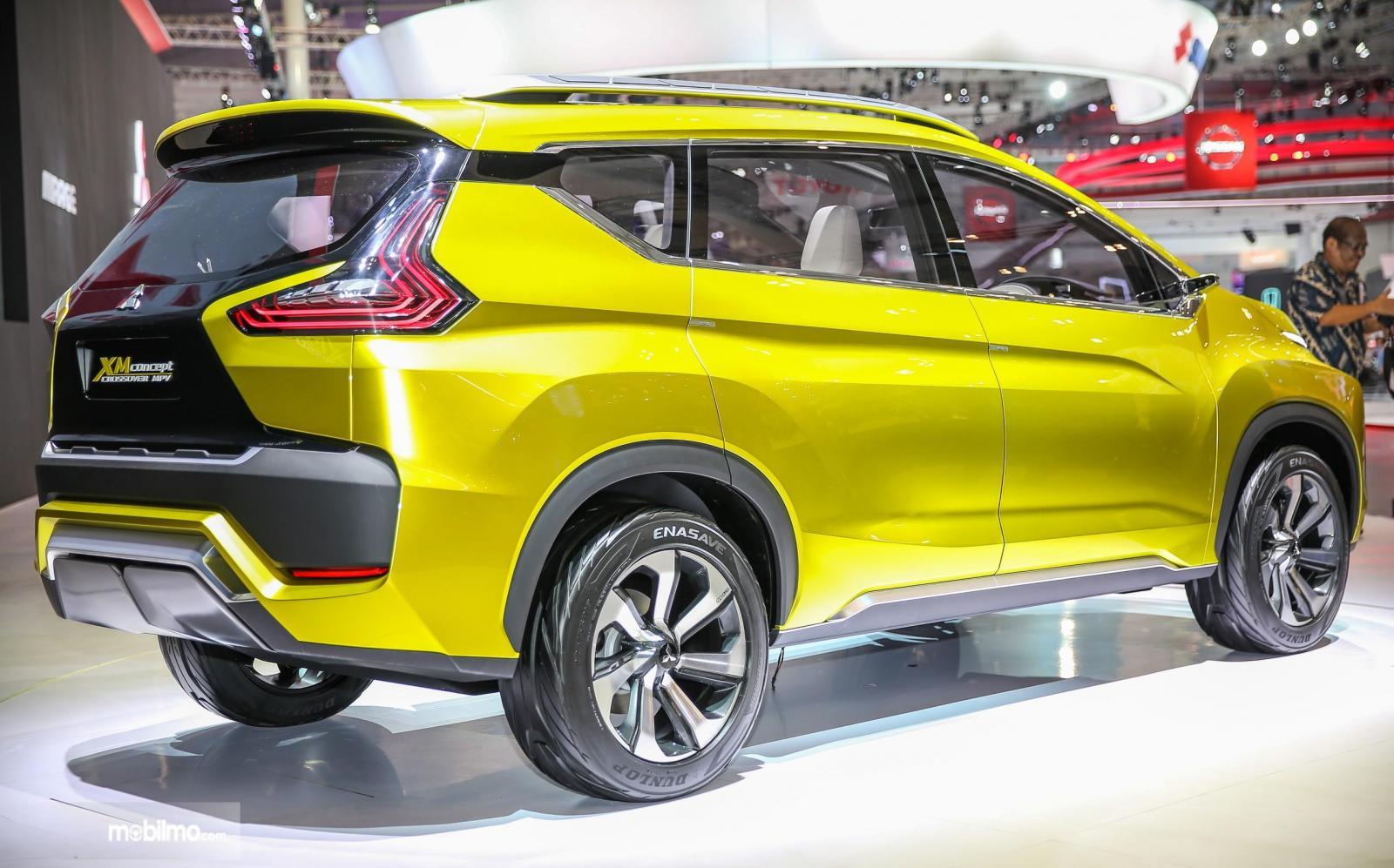 Foto Mitsubishi XM Concept di GIIAS 2016