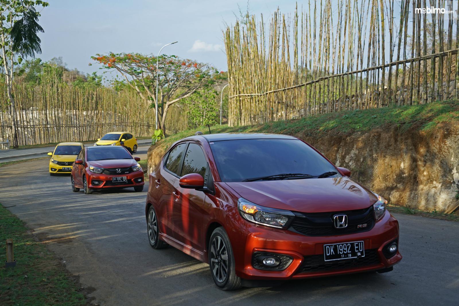Foto test drive All New Honda Brio