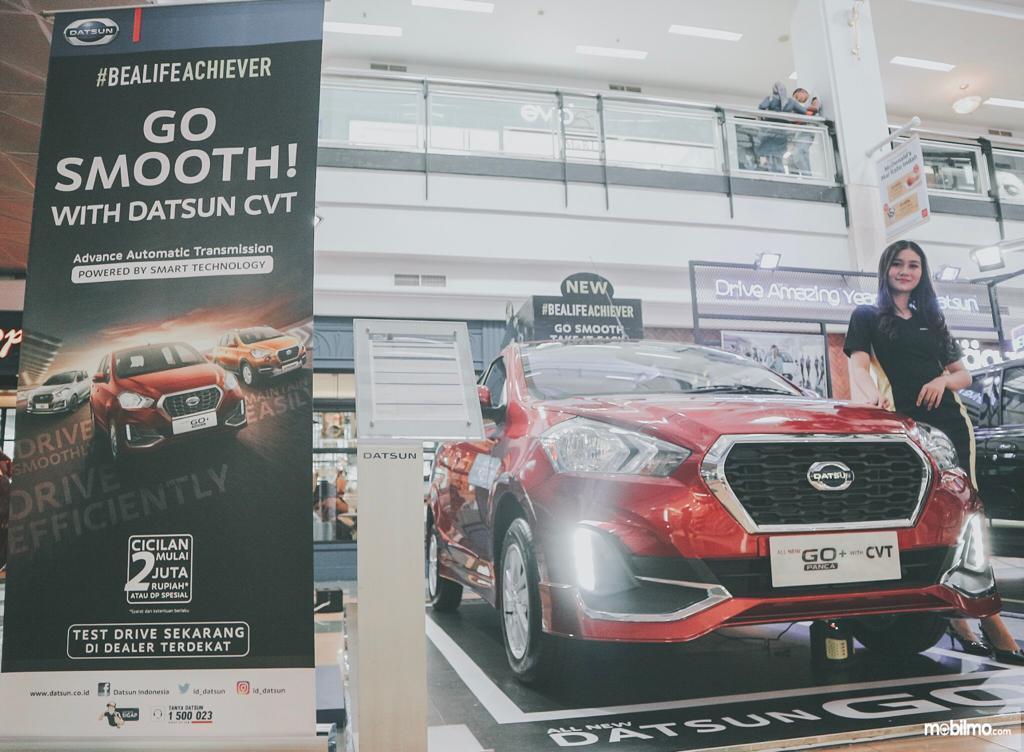 Peluncuran Datsun GO+ Panca CVT Makassar bersama promo menarik