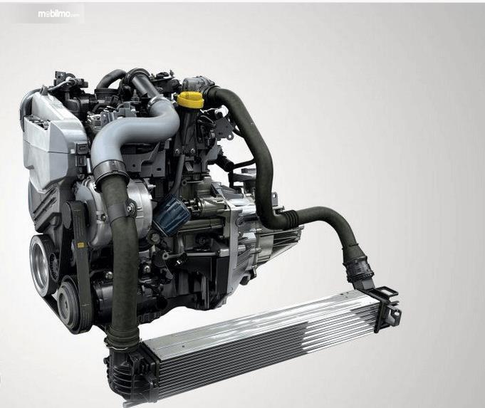 Gambar ini menunjukkan mesin yang digunakan pada Renault Lodgy 2019