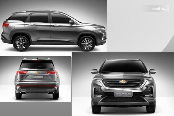 Gambar ini menunjukkan mobil All New Chevrolet Captiva 2019 yang akan muncul di Thailand