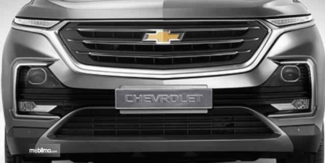 Gambar ini menunjukkan bagian depan All New Chevrolet Captiva