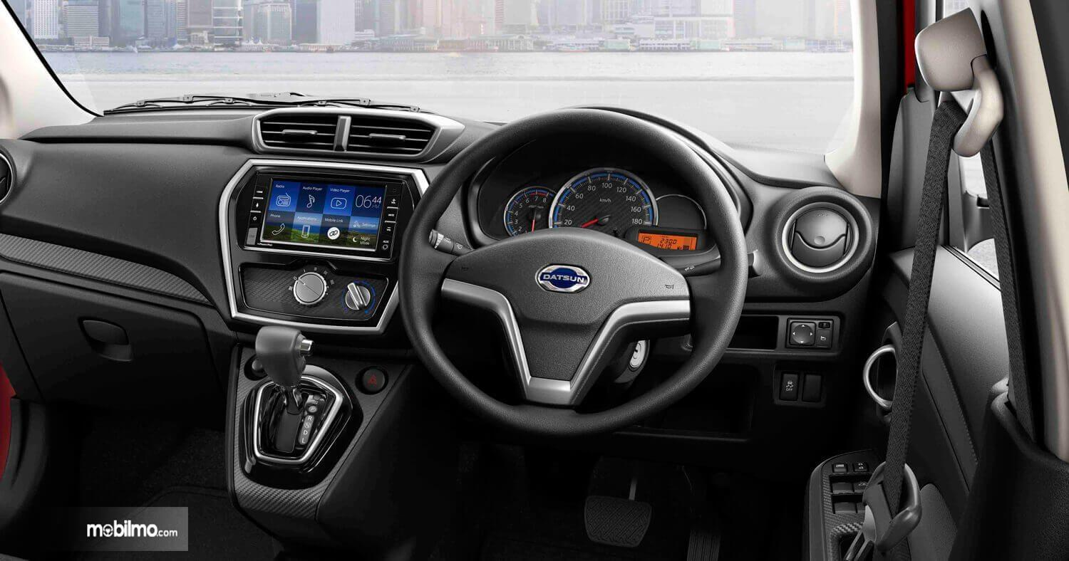 Foto dashboard dan setir All New Datsun GO CVT 2019