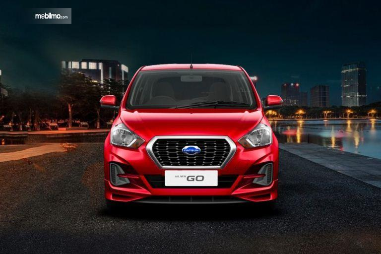 Foto All New Datsun GO CVT 2019 tampak depan