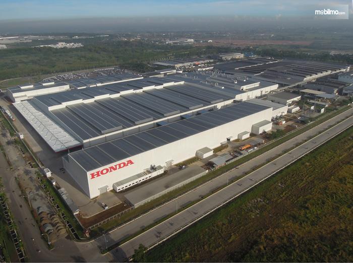 Foto Pabrik Honda Prospect Motor dari udara