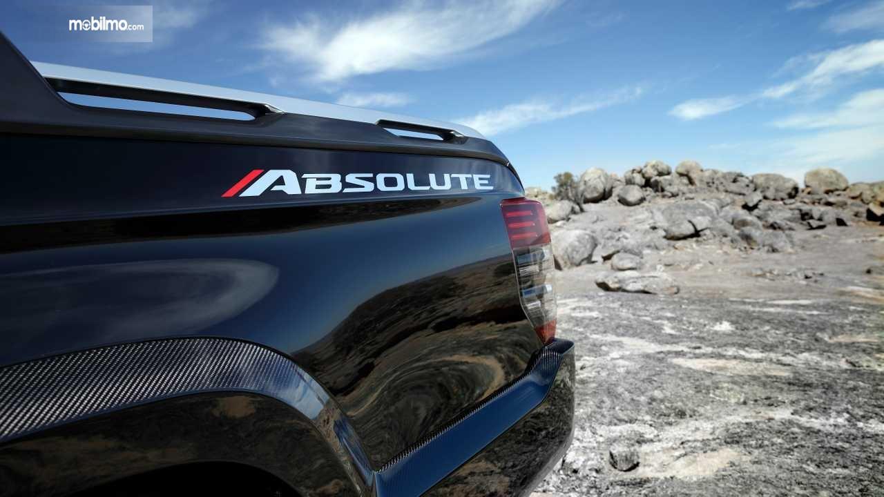 Logo Absolute Pada Mitsubishi Triton