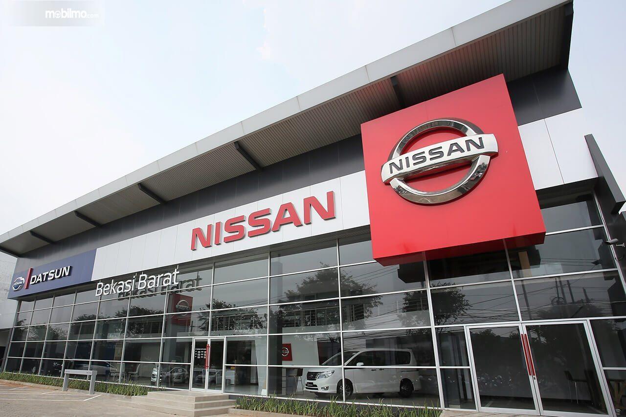 Foto diler Nissan Datsun Bekasi Barat tampak dari depan