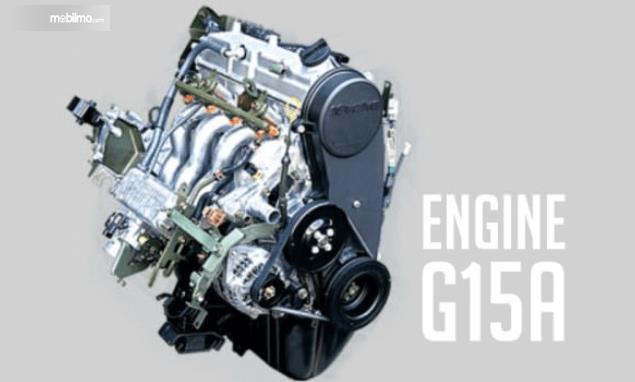 Gambar ini menunjukkan sebuah medin mobil dengan kode G15A