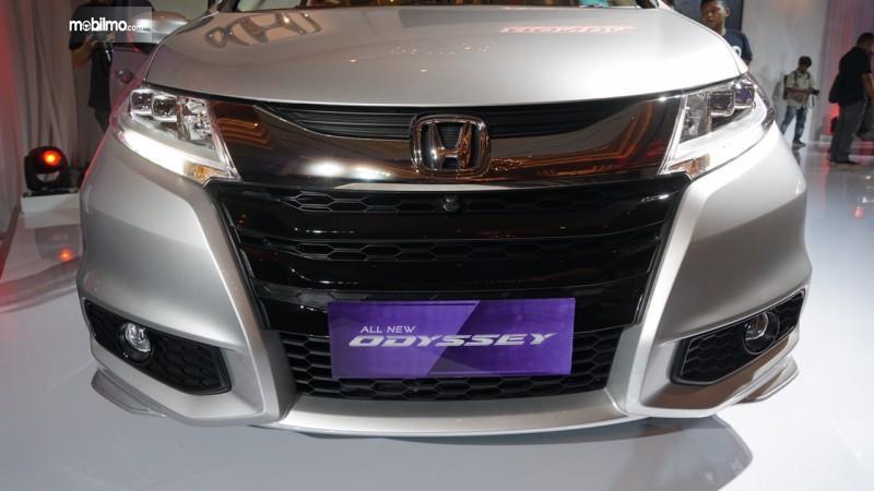 Foto bagian depan All New Honda Odyssey 2017