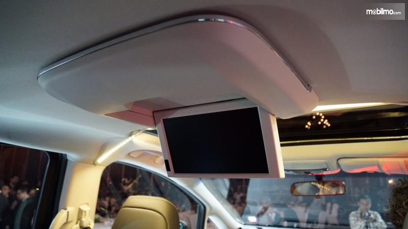 Foto roof monitor yang terdapat pada All New Honda Odyssey 2017