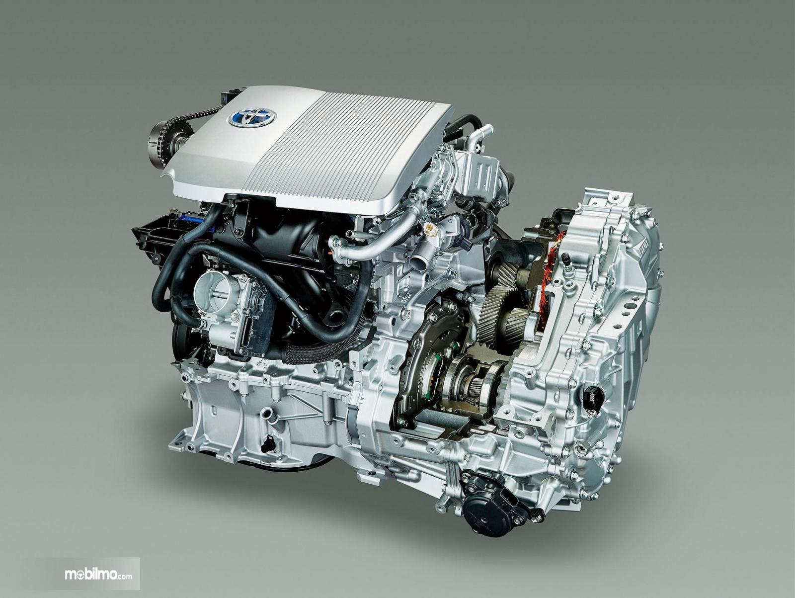Foto salah satu Mesin Hybrid Toyota, teknologinya bakal bisa diakses secara gratis