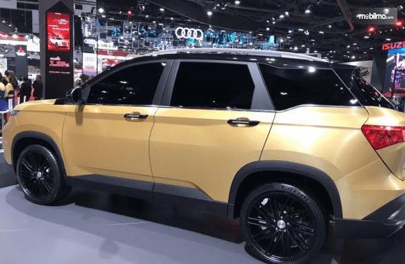 Gambar ini  menunjukkan bagian samping All New Chevrolet Captiva 2019