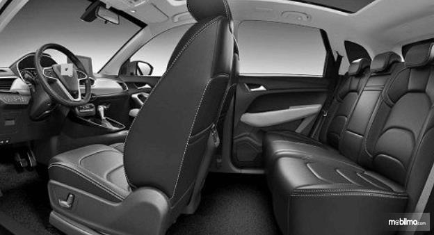 Gambar ini menunjukkan jok mobil milik All New Chevrolet Captiva 2019