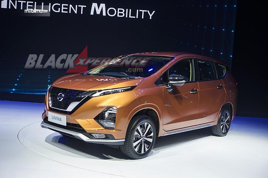 Foto All New Nissan Livina saat diluncurkan di Jakarta awal 2019