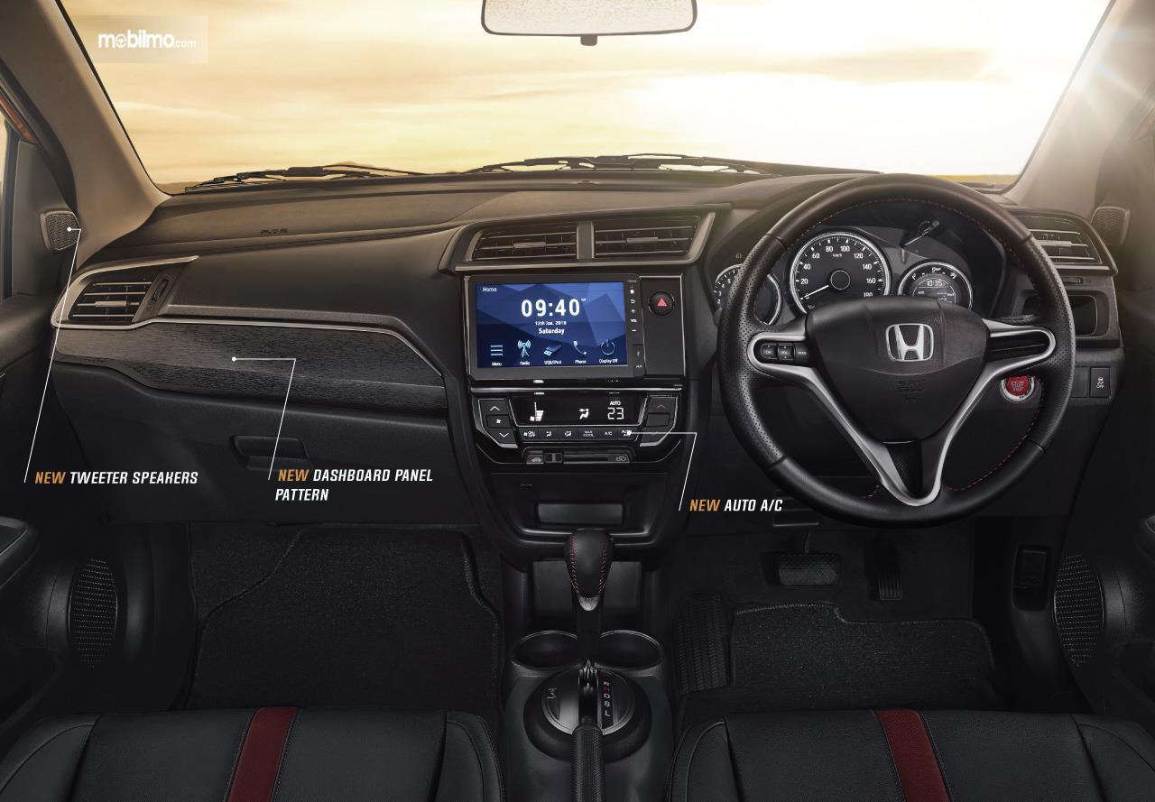 Tampilan baru Interior New Honda BR-V 2019