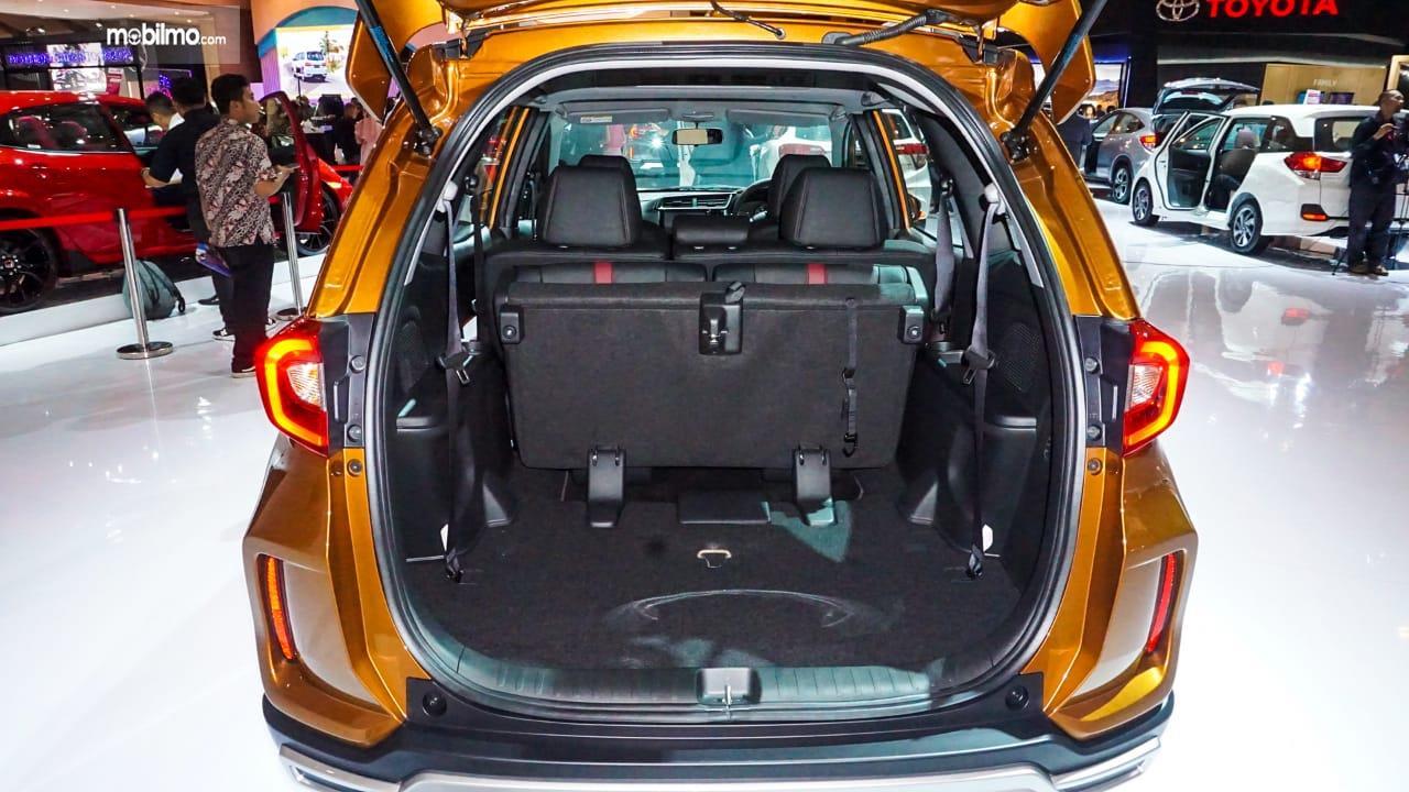Gambar menujukkan desain bagian Bagasi New Honda BR-V 2019