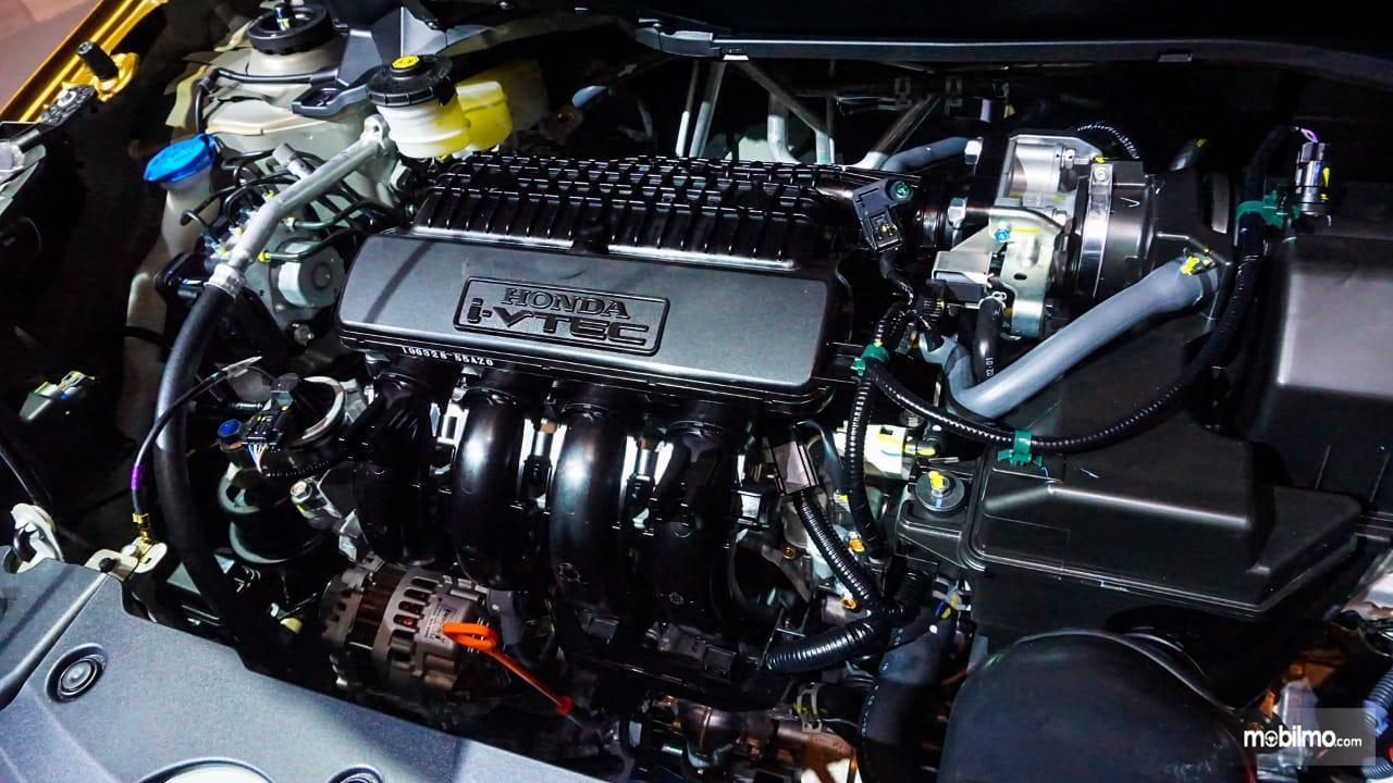 Gambar menujukkan desain bagian Mesin New Honda BR-V 2019