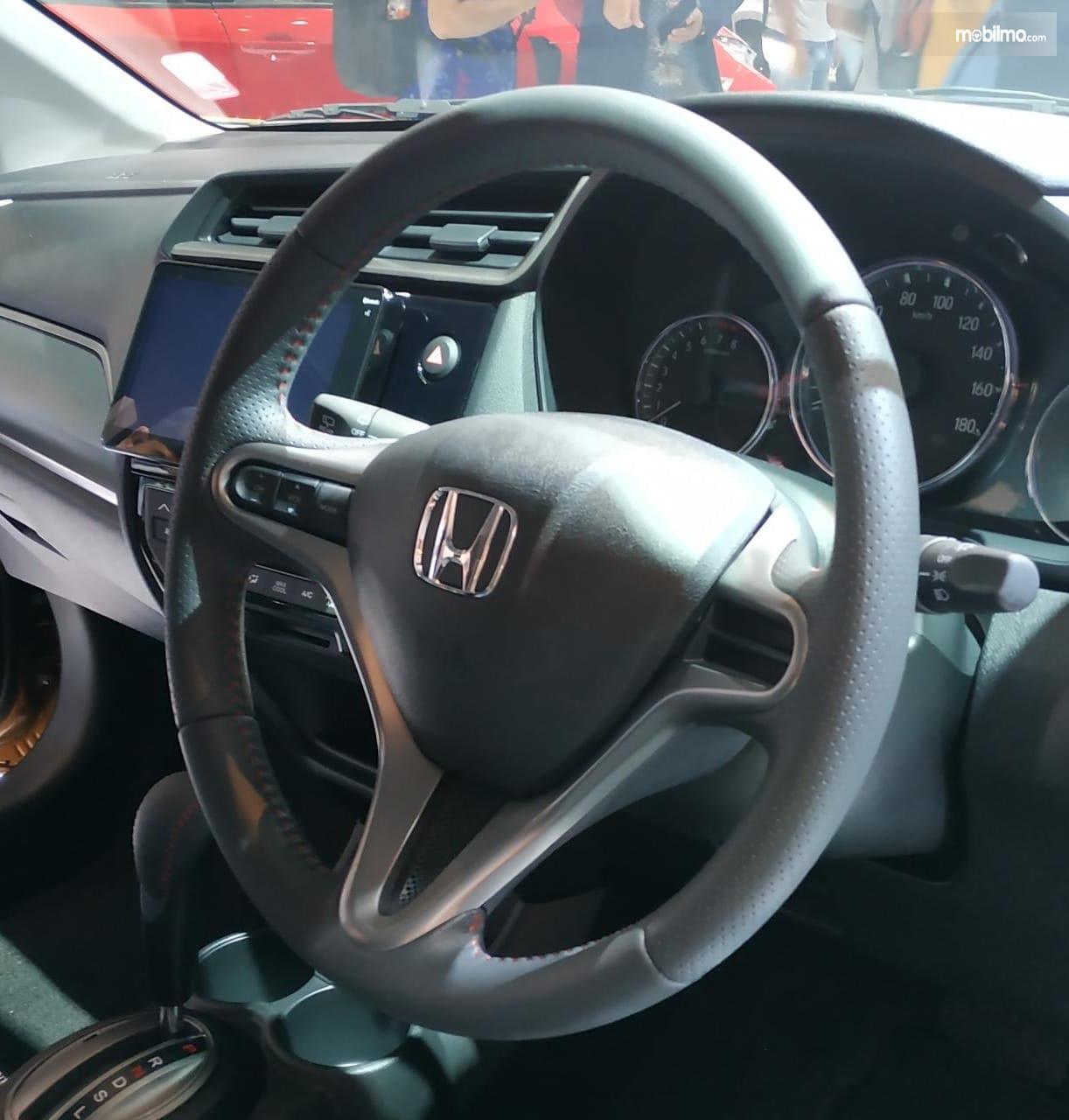Gambar menujukkan desain bagian Setir New Honda BR-V 2019