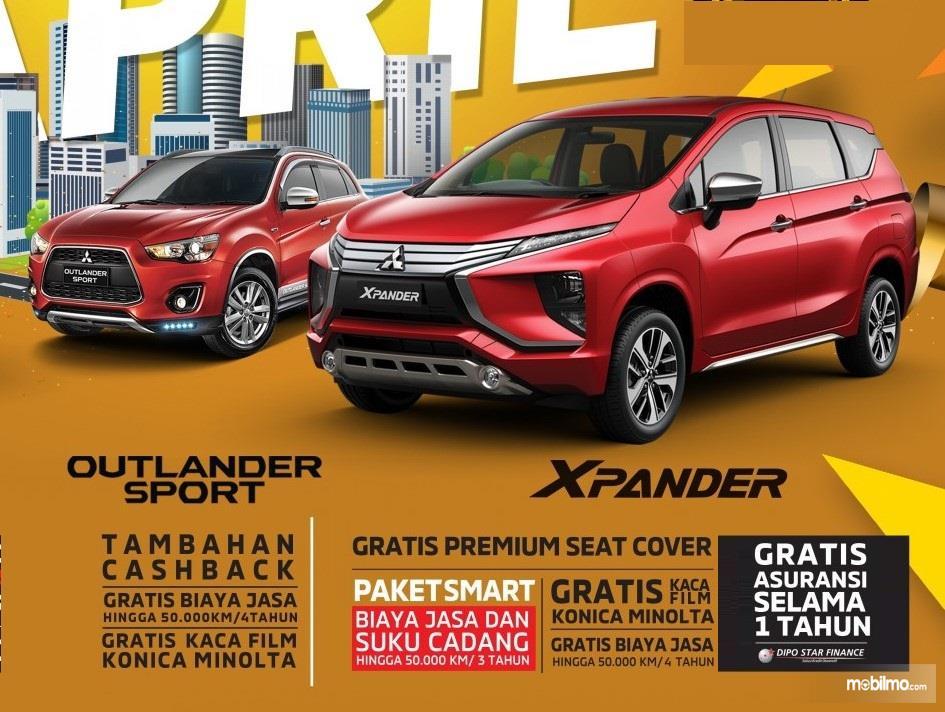Banner Layanan Purna Jual Mitsubishi Xpander berupa Paket Smart