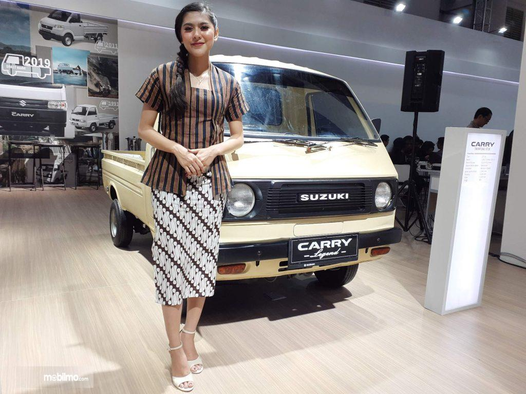 Foto Suzuki Carry ST20 keluaran tahun 1981 yang jadi pemenang kontes Suzuki Carry Jadul