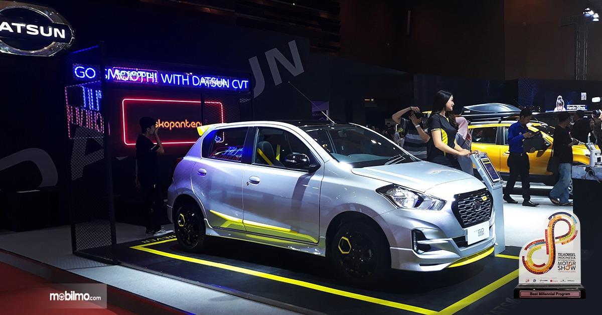 Booth Datsun hadir di ajang IIMS 2019