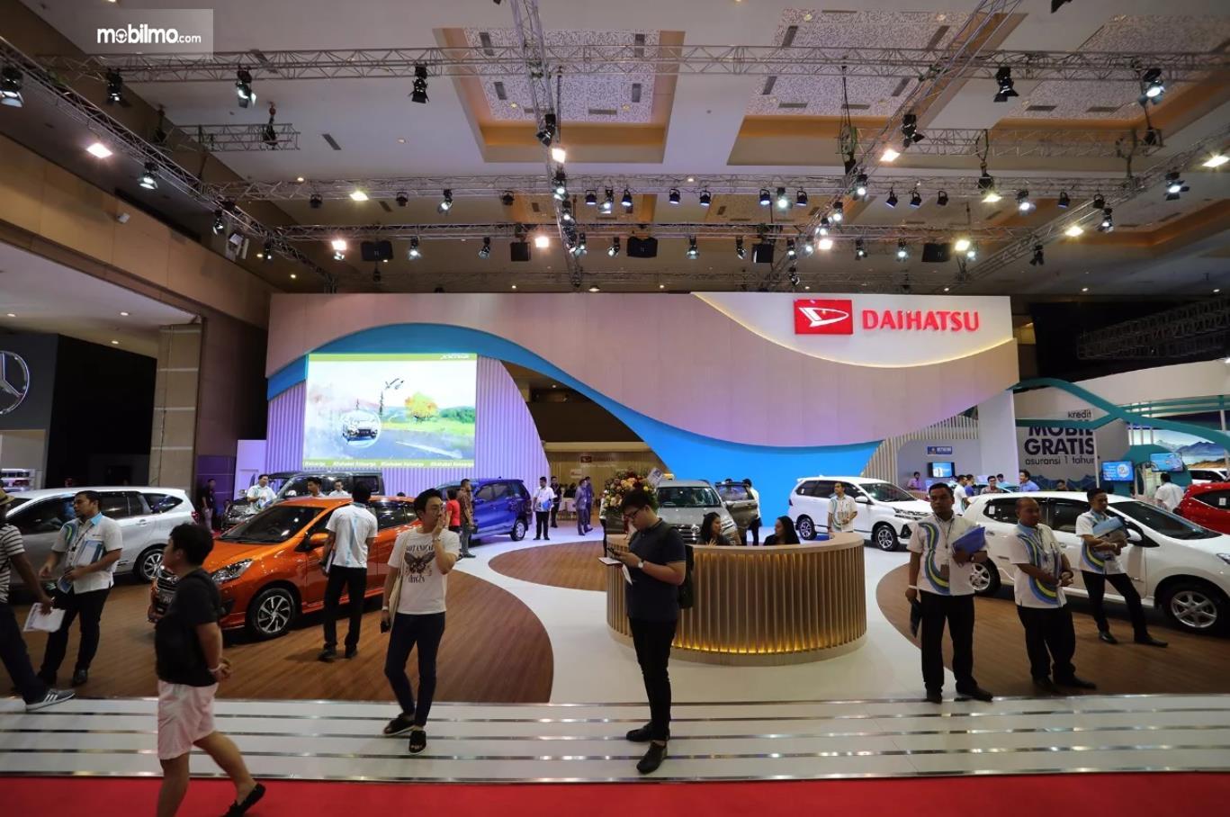 Foto Booth Daihatsu di pameran Telkomsel IIMS 2019