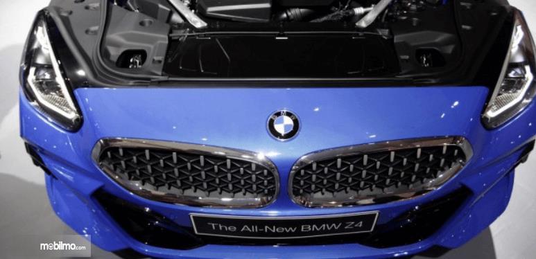 Gambar ini menunjukkan mobil BMW Z4 sDrive30i M Sport 2019 tampak depan
