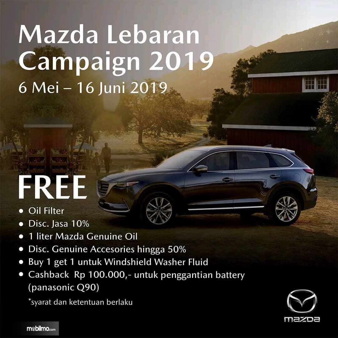 Foto program Mazda Lebaran Campaign