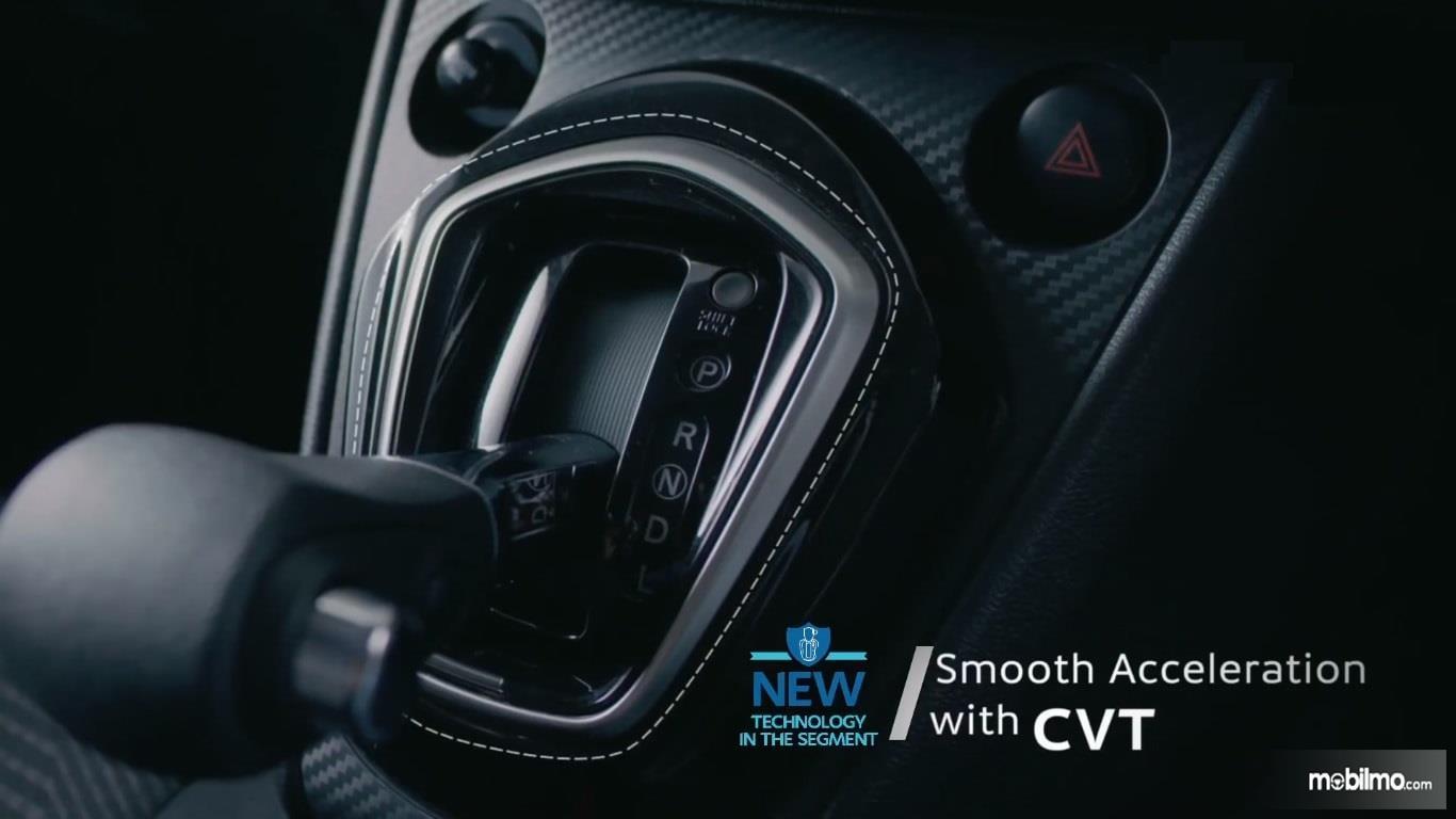 Foto tuas transmisi pada Datsun Go CVT