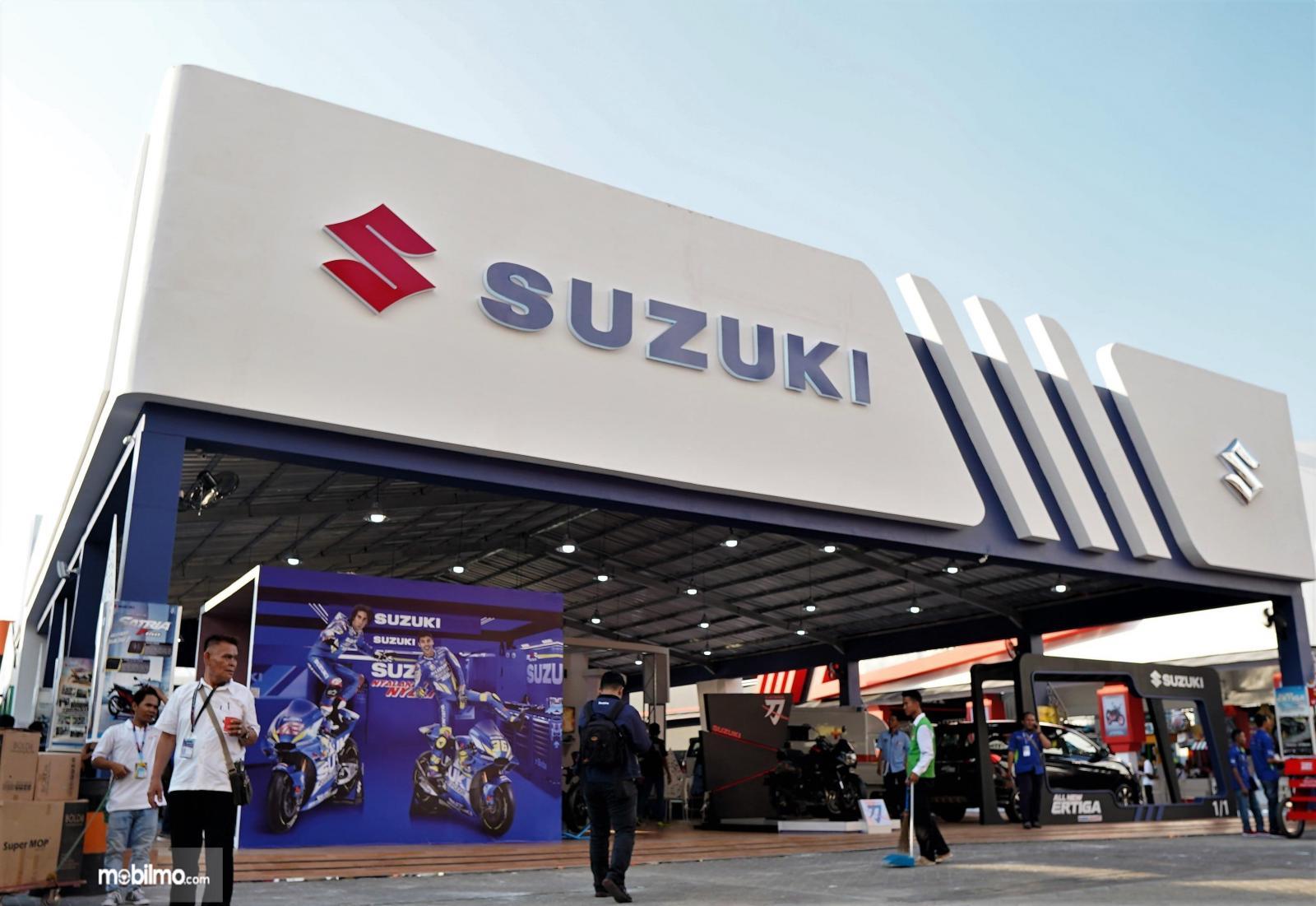 Foto Booth Suzuki di JFK 2019 menarik dan menggoda