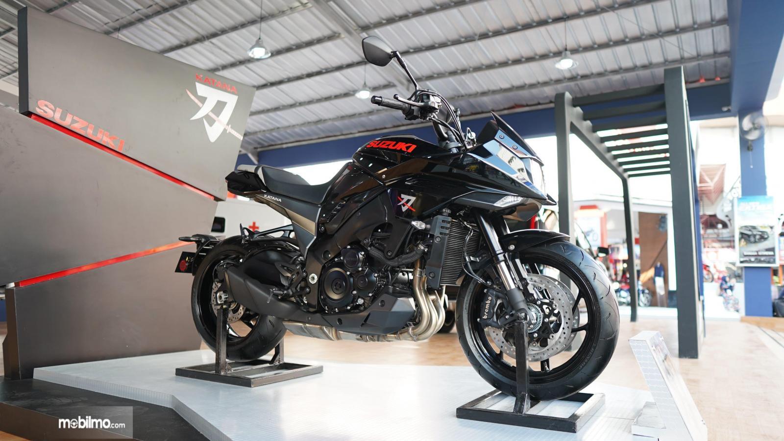 Foto sepeda motor Suzuki Katana di pameran JFK 2019