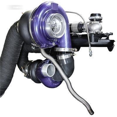 Sebuah sistem compound turbocharger