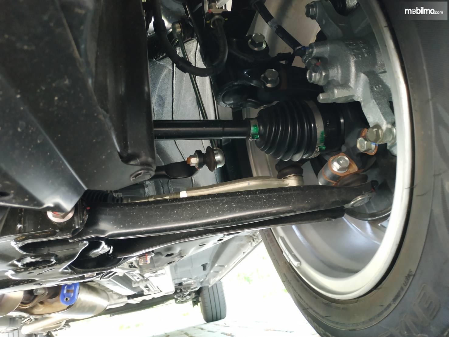 Tampak cv joint atau as roda