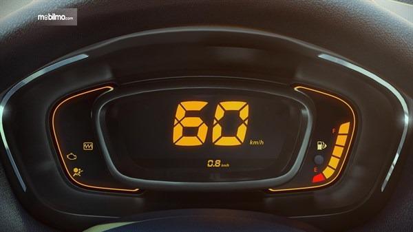Gambar menunjukkan Spidometer Digital Mobil Renault Kwid 2016