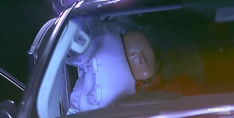 gambar ini tampak dalam mobil setelah dilakukan pengujian JNCAP