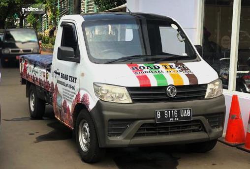 Mobil DFSK Super Cab Diesel yang akan ikut serta dalam Road Test Solar B30