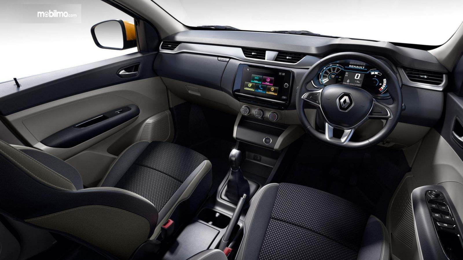 Foto menunjukkan bagian Interior Renault Triber