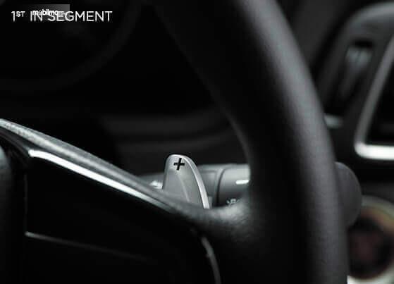 Gambar menunjukkan desain bagian Paddle shift Honda Amaze 2019