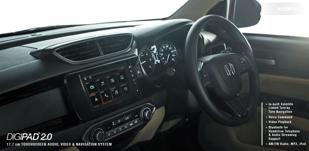 Gambar menunjukkan fitur ICE System Honda Amaze 2019