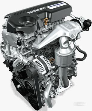 Gambar menunjukkan desain bagian Mesin Honda Amaze 2019