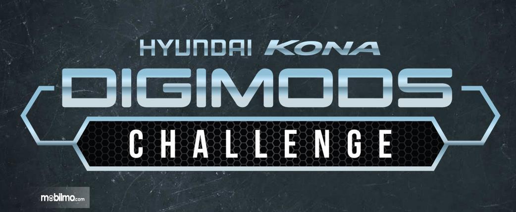Gambar ini menunjukkan selebaran mengenai Hyundai Kona Digimods Challenge