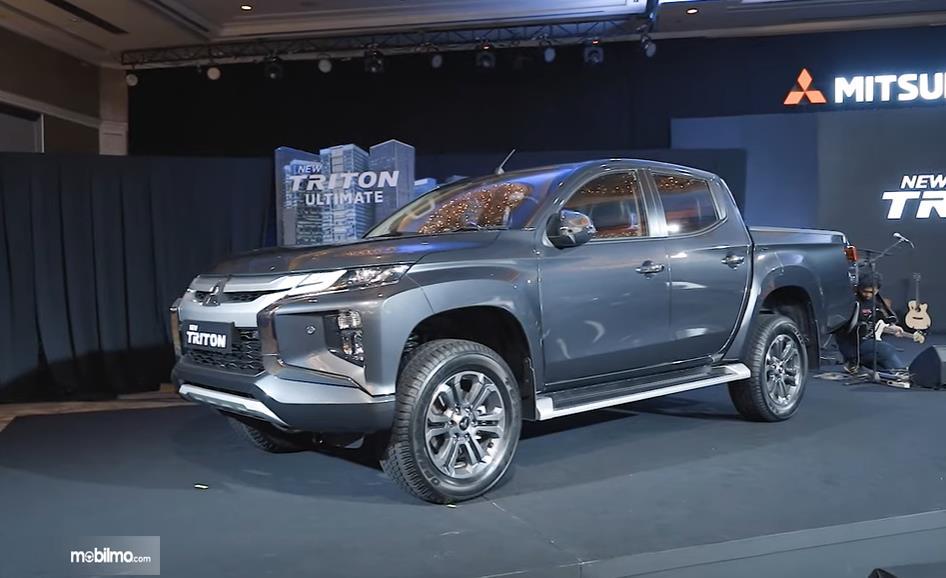 Foto Mitsubishi New Triton saat diperkenalkan ke media